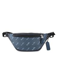 COACH 胸包 腰包 防刮PVC/真皮皮革 胸包 腰包 單肩包 斜背包 C4138 藍色(現貨)▶指定Outlet商品5折起☆現貨