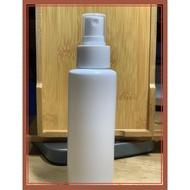 【現貨】HDPE 2號 噴霧瓶100ml  酒精瓶 塑膠噴瓶 塑膠瓶 酒精分裝瓶 按壓噴霧瓶 隨身攜帶瓶 防疫
