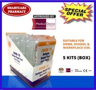 ALLTEST COVID-19 Antigen Rapid Test - Oral Fluid Self Testing x5 kit