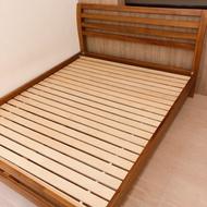 詩肯柚木二手標準床架