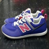 童鞋 New balance 574 nb KS574BP 藍色 紫色 鬆緊帶 不用綁鞋帶 可直接套 彈性 兒童 小朋友