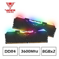 VIPER美商博帝 RGB Black DDR4 3600 CL17 16GB(2x8GB