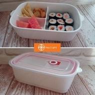 【Daylight】現貨 3格 陶瓷 便當盒  保鮮盒 餐盒 野餐盒 分隔餐盒 微波陶瓷飯盒 陶瓷便當盒