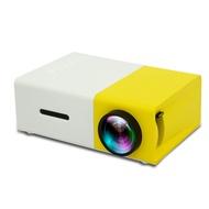 【happliances】yg300家用迷妳微型投影儀led娛樂便攜1080高清投影機