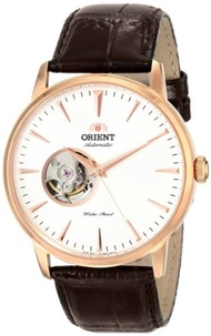 Orient Mens FDB08001W0 Esteem Stainless Steel Automatic Watch with Leather Band