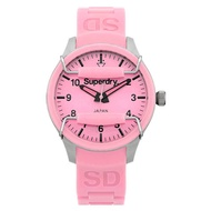 Superdry Scuba SYL120LP Analog Quartz Pink SIlicone Womens Watch