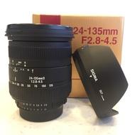 【現貨】SIGMA 全新品 24-135mm F2.8-4.5大光圈 For Nikon