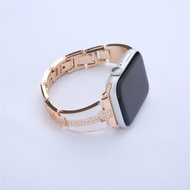 Stainless steel strap band Compatible with Apple Watch Series 1/2/3/4/5 38mm 40mm 42mm 44mm for steel strap Watch Strap Suitable for ladies