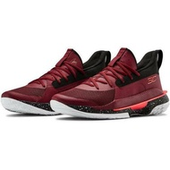 """UNDER ARMOUR Curry 7 """"Underrated Tour"""" 酒紅 籃球鞋 3021258-605"""
