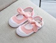 baby-Fรองเท้าเด็ก  รองเท้าคัชชู(เด็กผู้หญิง)แบบใหม่แฟชั่นโบว์ น่ารัก เป็นเนื้อผ้าหนา แต่นุ่มสบายเดินถนัด มีไซส์ 21 ถึง 25 *สีแดงสีกรมสีชมพูอ่อนสีเทา #B09