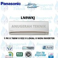 Panasonic AC Split 1 PK R32 Si BIRU - LN9WKJ