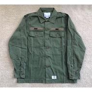 Wtaps 18SS 兩袋 BUDS LS 蠟染 水洗 工裝 夾克 襯衫