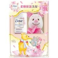 現貨 多芬日本植萃迪士尼限定-荷花柔順保濕洗髮露500g 多芬 維尼 小豬