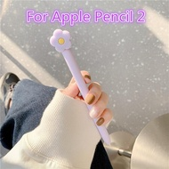 Cute Silicone Cat Claw For Apple Pencil 2/1 Case For iPad Tablet Touch Pen Cartoon Protective Sleeve Cover Flower Pencil Cases