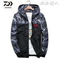 Daiwa 釣魚/磯釣/路亞/防潑水/迷彩/薄外套