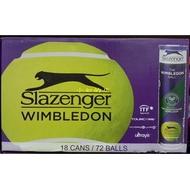 【小如的店】Slazenger 桶裝網球(每箱18桶/共72顆)台灣最高比賽.溫布頓指定用球/ITF國際網球總會認可球