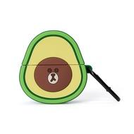 熊大 AIRPODS PRO 酪梨造型保護套