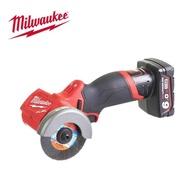 【Milwaukee 美沃奇】12V鋰電無刷3吋砂輪機-M12FCOT-601 原廠公司貨(單6.0電池套裝組)
