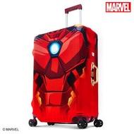 加賀皮件 DESENO Marvel 漫威英雄造型 3D 彈性 旅行箱套 行李箱套 鋼鐵人L號(28-29吋) 0003