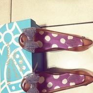 Vivienne Westwood x Melissa 無LOGO 蝴蝶結 平底 娃娃鞋 果凍鞋