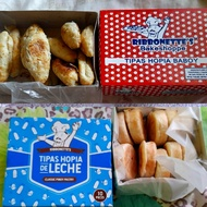 ( 2boxes for 165 ) Ribbonettes Tipas Hopia Special De Leche & Baboy Flavors (FRESHLY BAKED !! ) (NO CANCELATION OF ORDERS !! )