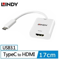 LINDY 主動式 USB3.1 TYPE-C TO HDMI1.4 4K/30HZ轉接器