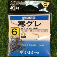 【舞磯釣具】《gamakatsu》 寒グレ (茶)魚鉤.釣鉤