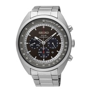 SEIKO SOLAR SSC621P1 STAINLESS STEEL SILVER BLUE MENS WATCH