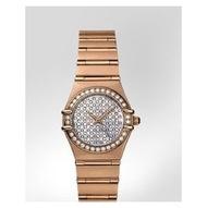 【幾近全新】Omega 歐米茄Constellation星座系列 女用玫瑰金鑽錶11567700〈歡迎面交〉