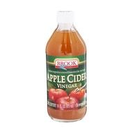 Brook Organic Apple Cider Vinegar 473ml.