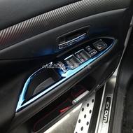 16-18款 歐藍德Outlander 改裝配件專用內飾裝飾亮條貼片  歐藍德Outlander 改裝汽車用品