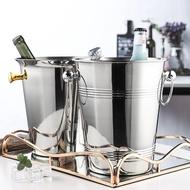 【新新賣場】不銹鋼保溫儲紅酒冰桶家用商用酒吧裝冰塊容器可樂啤酒香檳冰鎮器