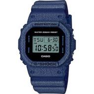 G-SHOCK 經典款丹寧系列運動錶 DW-5600DE-2