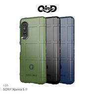 【愛瘋潮】免運  保護套 QinD SONY Xperia 5 II 戰術護盾保護套 鏡頭加高 保護套 手機殼 軟殼