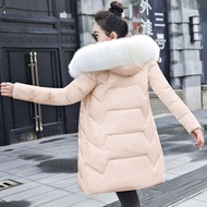 Fashion European Black Women's Winter Jacket Big Fur Hooded Thick Down Parkas Female Jacket Warm Winter Coat for Women New