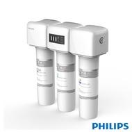 【飛利浦 PHILIPS】【送PEGA濾心(WP3975)】四重濾淨(PEGA+CB+UF)櫥下型超濾淨水器(WP4161)