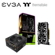 Thermaltake曜越 TR2 PRO 500W 電源供應器 + 艾維克EVGA GTX 1650 SC ULTRA BP GAMING 顯示卡