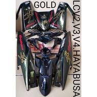 COVERSET LC135 HAYABUSA GOLD V2-V6