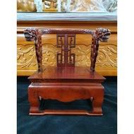 【錦桂】8寸8神尊用 / 精品龍椅 / 實木製 / 神明椅、貼座、神明座、帖座、屈椅、墊椅、法座