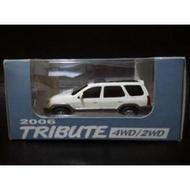 全新現貨 Mazda馬自達2006年絕版 TRIBUTE 4WD/2WD模型汽車$850(含運)