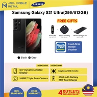 【Ready Stock】【MY-SET】Samsung Galaxy S21 Ultra FREE TNG RM200 Reload Pin Galaxy Fit 2 Galaxy SmartTag Wireless Charger