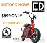 FIIDO ELECTRIC SCOOTER (UL2272 CERTIFIED) WITH CERTIFIED UL CHARGER LOCAL SELLER