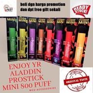 Aladdin PROStick PRO STICK MINI 800 puff Disposable Kit 1 time Stick ( Pod pakai buang) 2️⃣4️⃣ hour shipping