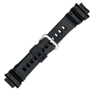 PVC Replacement Black Watch Band for Casio G Shock in16mm