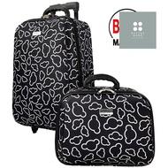 ร้านแนะนำWheal กระเป๋าเดินทางเซ็ทคู่ 20/14 นิ้ว Code FBL7720-1 Micky Mouse (Black) กระเป๋าเดินทาง