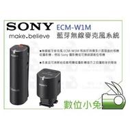 數位小兔【Sony ECM-W1M 藍芽無線麥克風系統】公司貨 A7s A7R A7 AX100 A73 A7R3 收音
