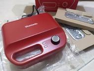 【特價】VWH-50-R Vitantonio 最新 鬆餅機 定時 自動斷電 新版小V 二手VWH-200 公司貨