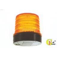 GO-FINE 夠好 台製led警示燈12v~24v 小圓黃 直徑110mm磁鐵座磁吸式警示燈磁吸式旋轉燈 led旋轉燈