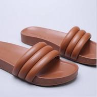 Cloud Bliss - Cumu Slides - Tan (Made in Italy)