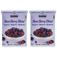【小如的店】COSTCO好市多線上代購~KIRKLAND 冷凍三種綜合莓-覆盆莓+藍莓+黑莓(1.81kgX2包)